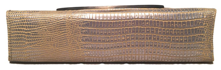 Judith Leiber Lizard Crystal Sunglass Ccase In Excellent Condition For Sale In Philadelphia, PA