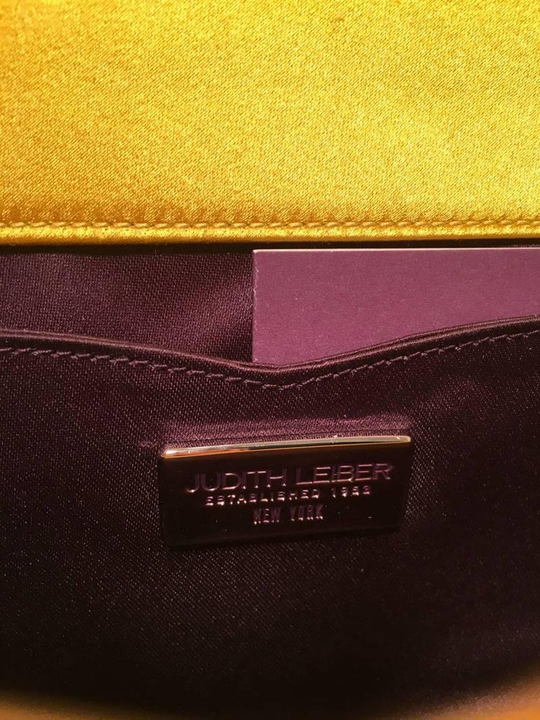 Judith Leiber Gold Crystal Evening Bag Clutch For Sale 1