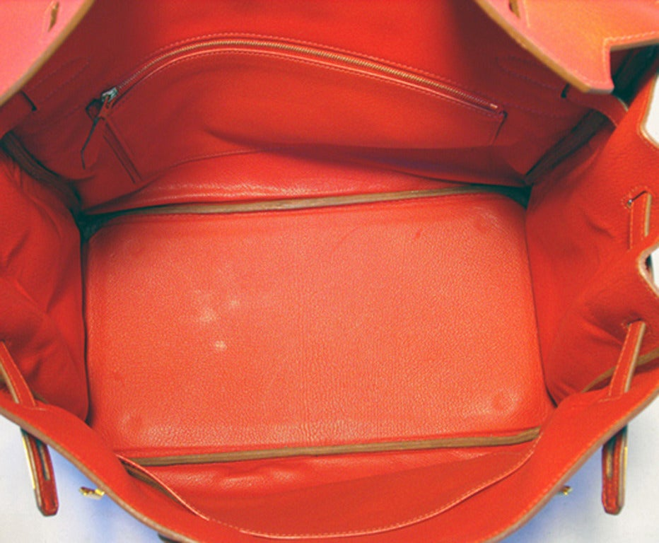 cheap hermes bags - Hermes Rouge Vif 35cm Clemence Birkin Bag For Sale at 1stdibs