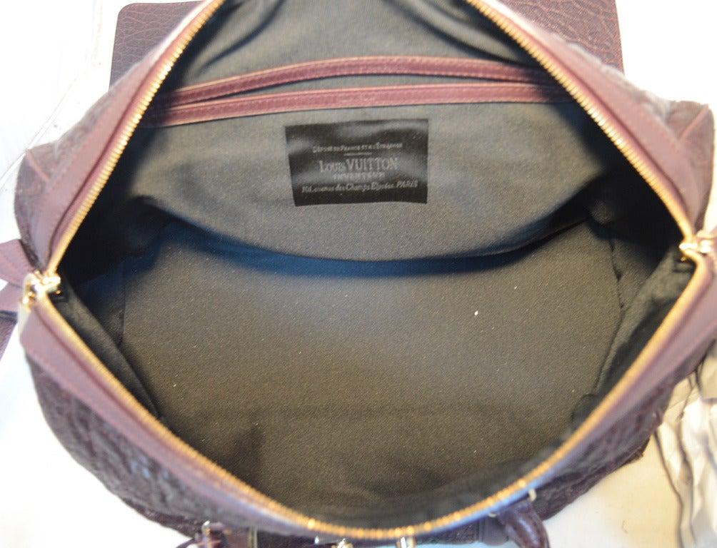 Louis Vuitton Limited Edition Monogram Volupte Bordeaux Psyche Bag For Sale 2