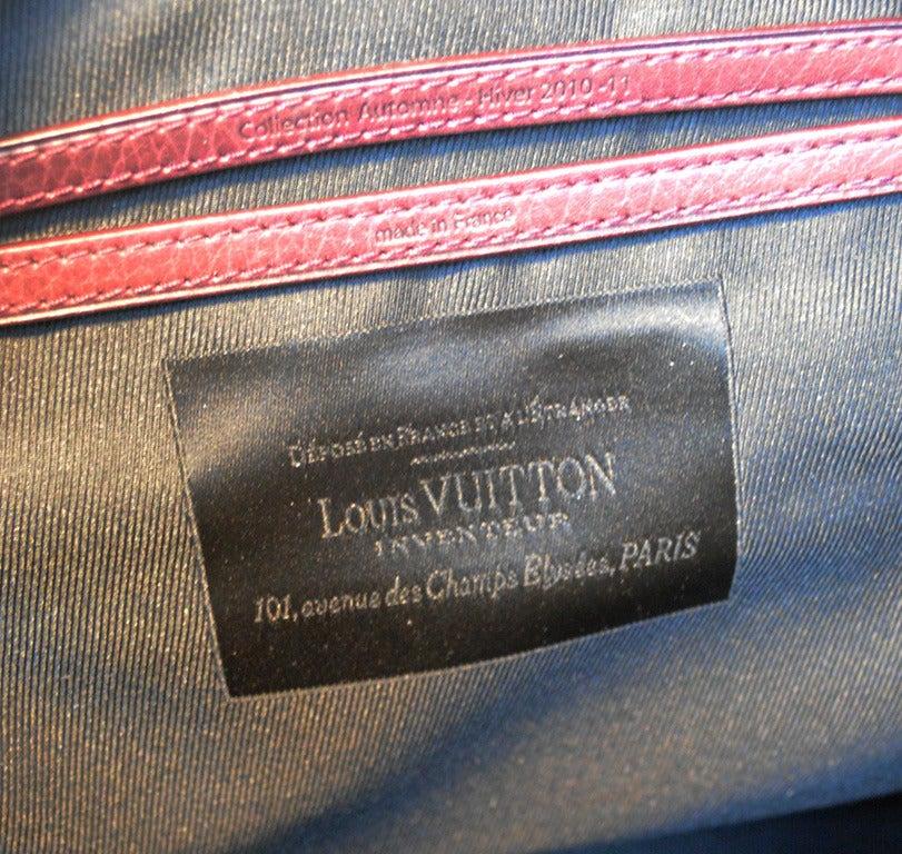Louis Vuitton Limited Edition Monogram Volupte Bordeaux Psyche Bag For Sale 1
