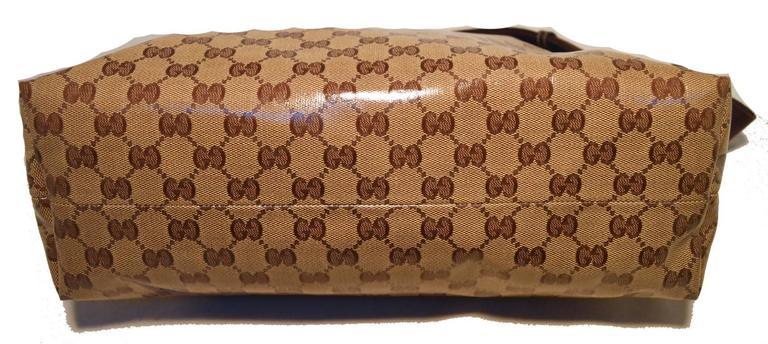 Gucci Monogram Square Unisex Shoulder Bag  In Excellent Condition For Sale In Philadelphia, PA