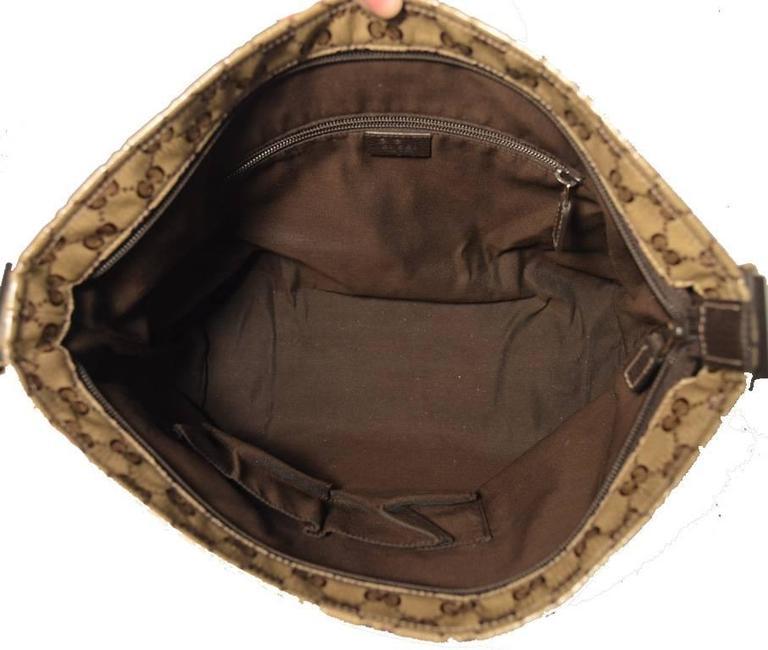 Women's Gucci Monogram Square Unisex Shoulder Bag  For Sale