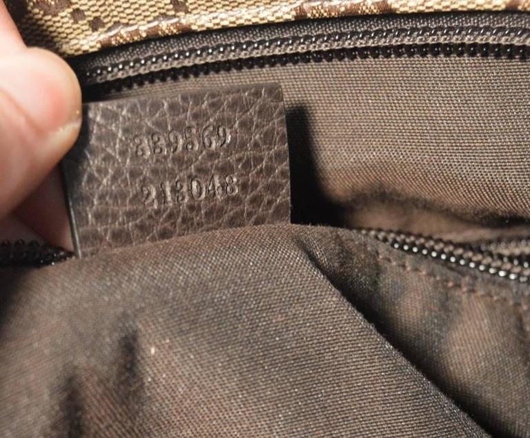 Gucci Monogram Square Unisex Shoulder Bag  For Sale 2