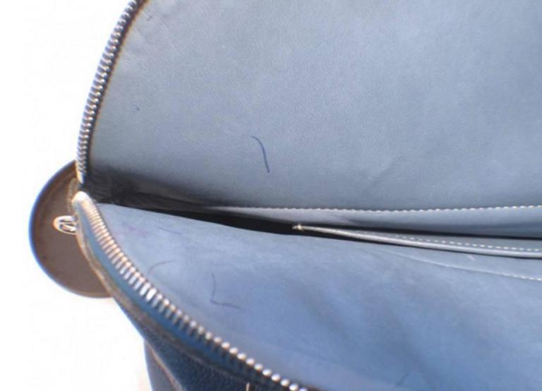 Hermes Mykonos Clemence Bolide Bag and Shoulder Strap For Sale 1