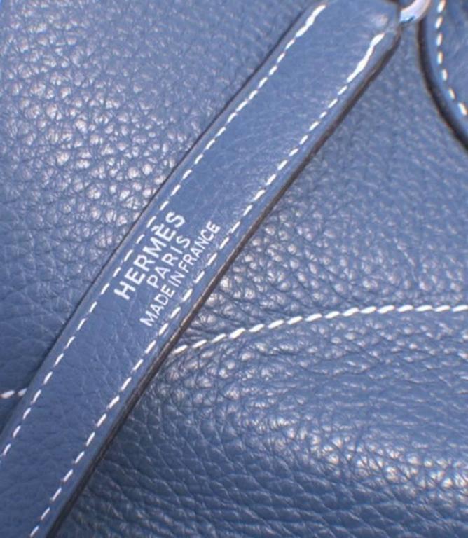 Hermes Mykonos Clemence Bolide Bag and Shoulder Strap For Sale 3