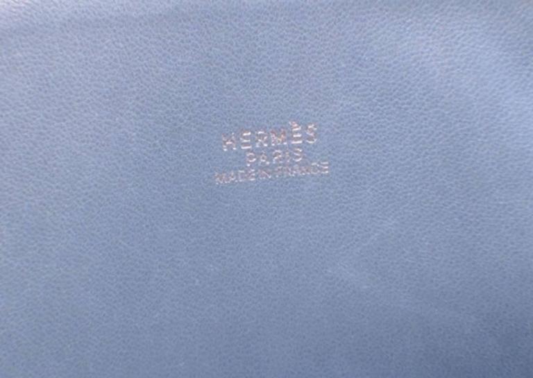 Hermes Mykonos Clemence Bolide Bag and Shoulder Strap For Sale 4