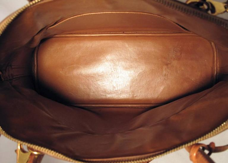 Women's Hermes Rare Tan Ostrich Bolide Handbag For Sale
