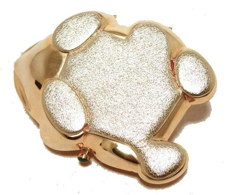 Judith Leiber Gold Frog Minaudiere 4