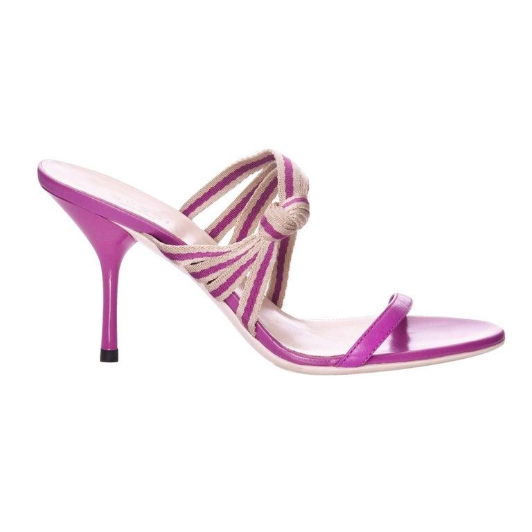 Gucci Mirabelle Pink Heels Mules Slides