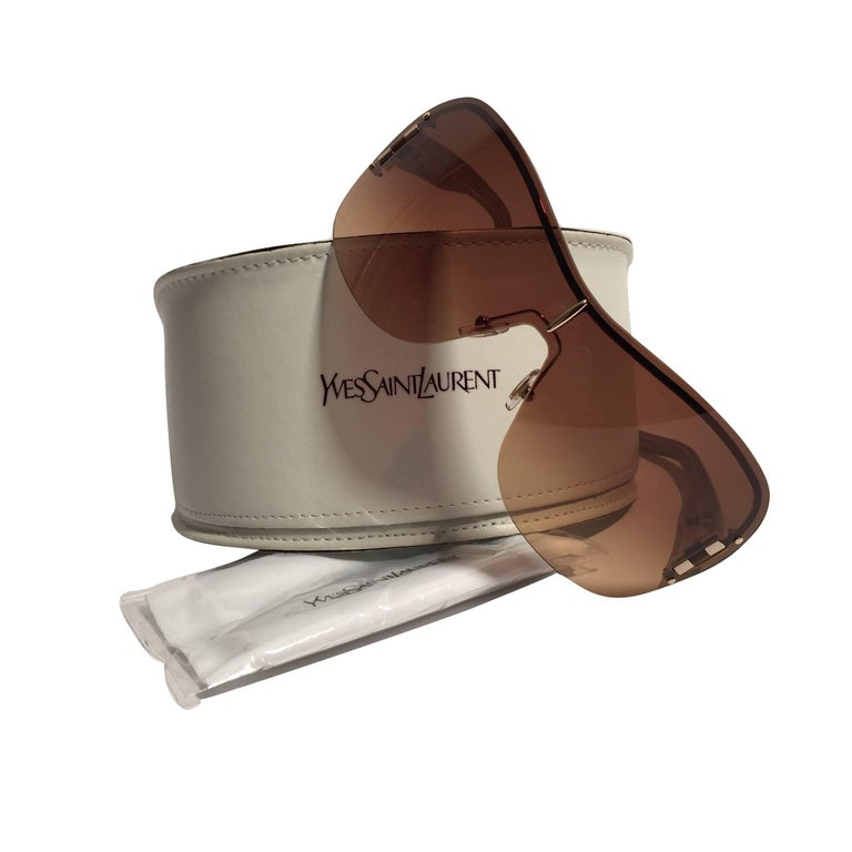 Yves Saint Laurent New YSL Wrap Sunglasses