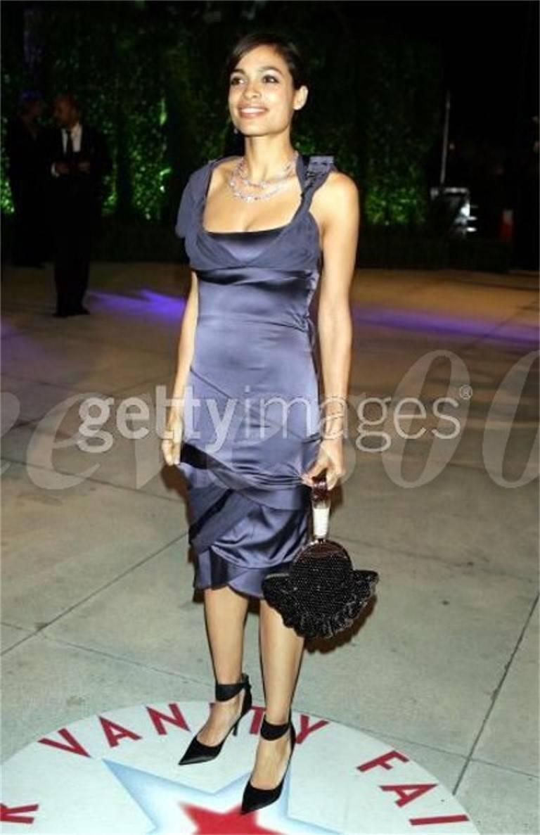 Women's New Tom Ford for Gucci Swarovski Rosario Dawson Ad Runway Heels Pumps Sz 7 For Sale