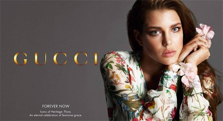 Beige New Gucci Flora Horsebit Mules Heels Pumps Floral Sz 39 For Sale