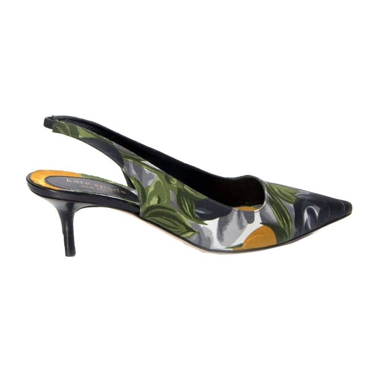 New Size 6.5 Kate Spade Spring 2005 Collection Floral Heels