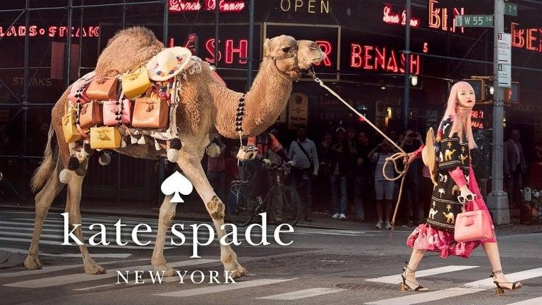 New Kate Spade Spring 2005 Snakeskin Bird Clutch Wristlet Bag  For Sale 3