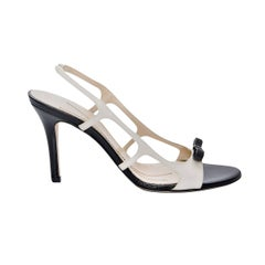 New Size 8.5 Kate Spade Spring 2005 Collection Leather Heels