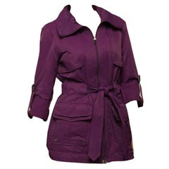 Kenneth Cole New Mulberry Jacket Coat With Travel Pouch