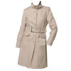 New Kenneth Cole Beautiful Tailored Coat Jacket Trench Size: 2