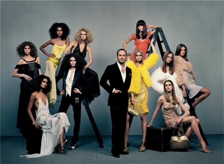 New Tom Ford For Gucci Swarovski Crystal Satin Heels Sz 8.5 For Sale 3