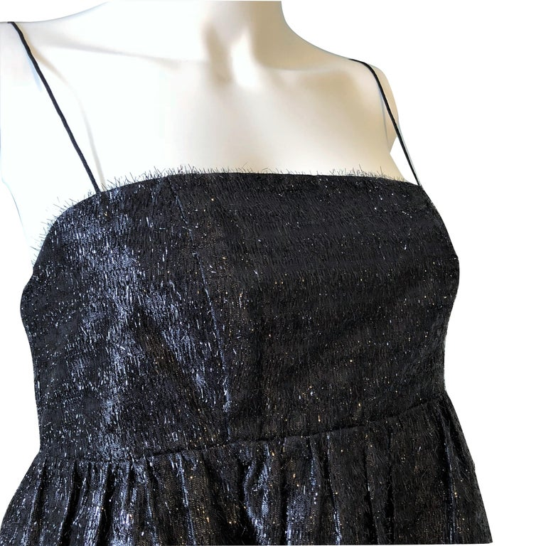 New Manoush Paris Cocktail Evening Dress Sz 8 In New Condition For Sale In Leesburg, VA