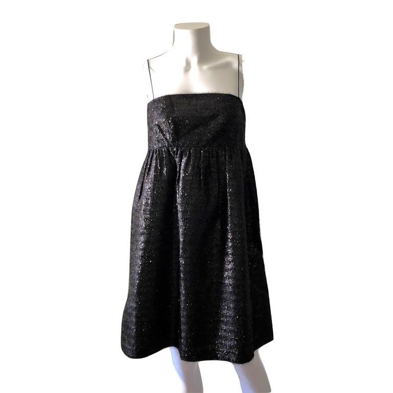 New Manoush Paris Cocktail Evening Dress Sz 8 For Sale 8