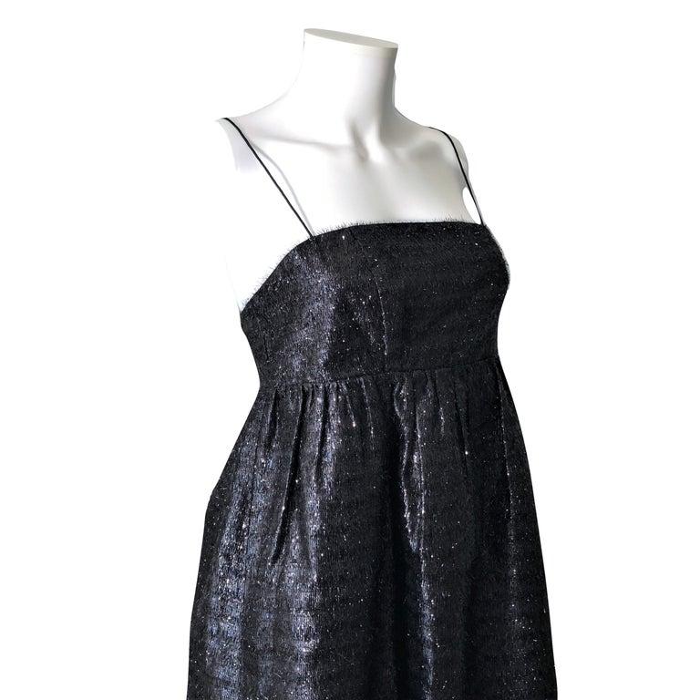 New Manoush Paris Cocktail Evening Dress Sz 8 For Sale 3
