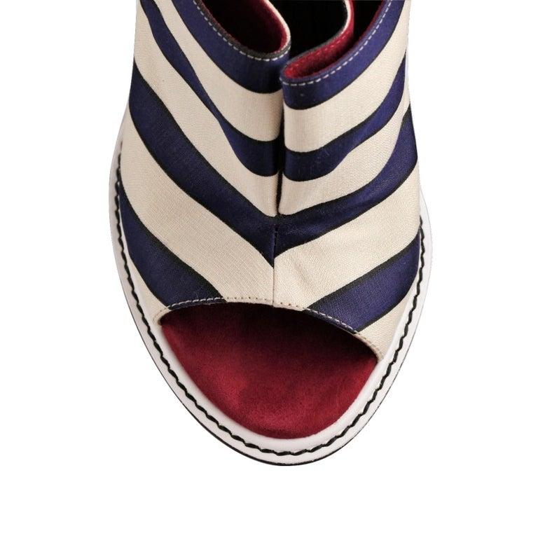 Fendi 2012 Runway Ad Heels Mules For Sale 9