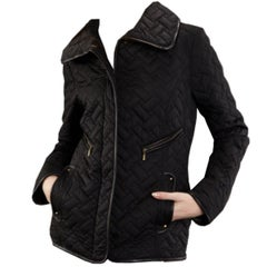 Cole Haan Thermore Insulated Quilted Riding Coat Jacket
