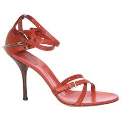 New Gucci Runway Leather Horsebit Heels