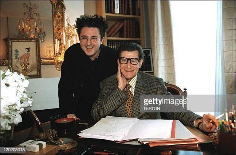 New Vintage Yves Saint Laurent YSL F/W 1998 Blazer Jacket Designer Alber Elbaz  1