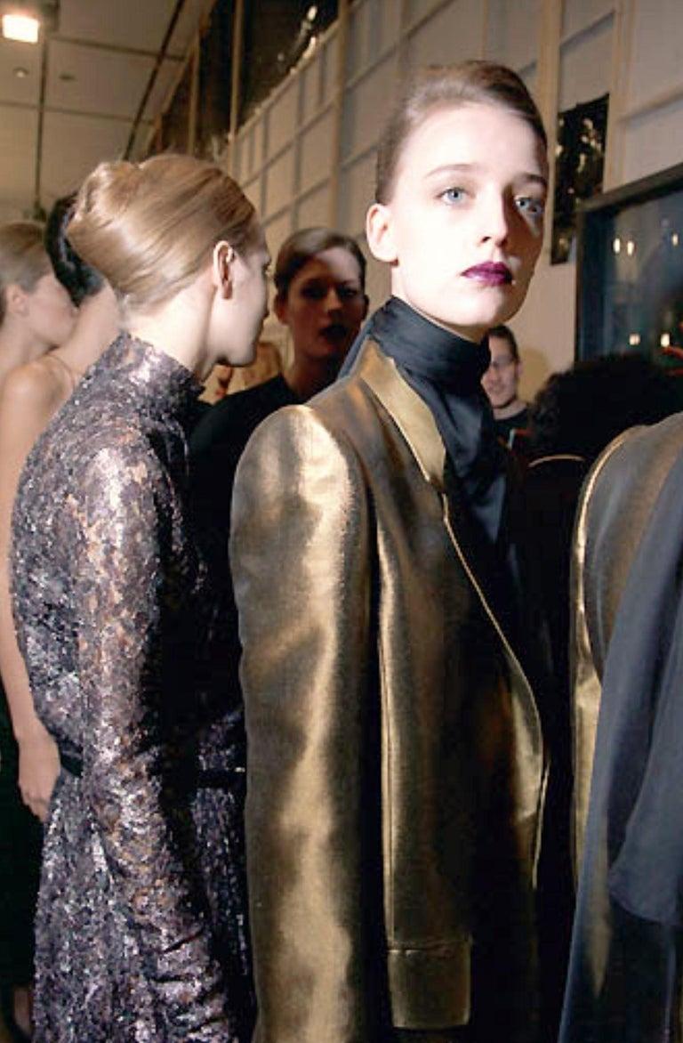 New Vintage Yves Saint Laurent YSL F/W 1998 Blazer Jacket Designer Alber Elbaz  6