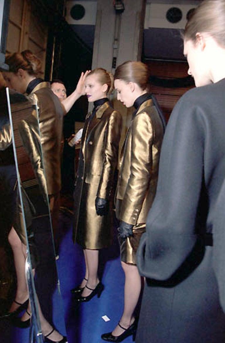 New Vintage Yves Saint Laurent YSL F/W 1998 Blazer Jacket Designer Alber Elbaz  In Excellent Condition In Leesburg, VA