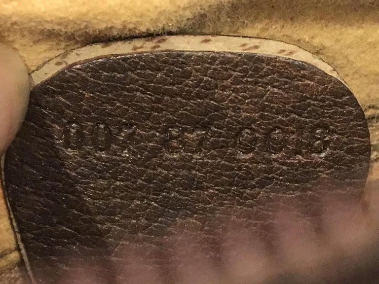 Vintage Gucci 1980s Signature