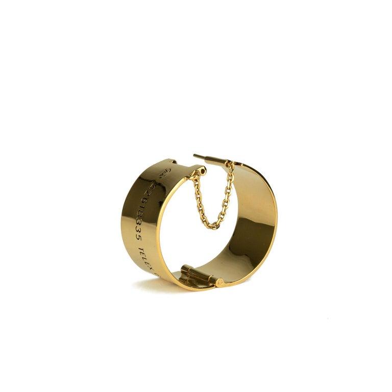 Chanel 31 Rue Cambon Cuff Bracelet In Good Condition For Sale In Miami, FL