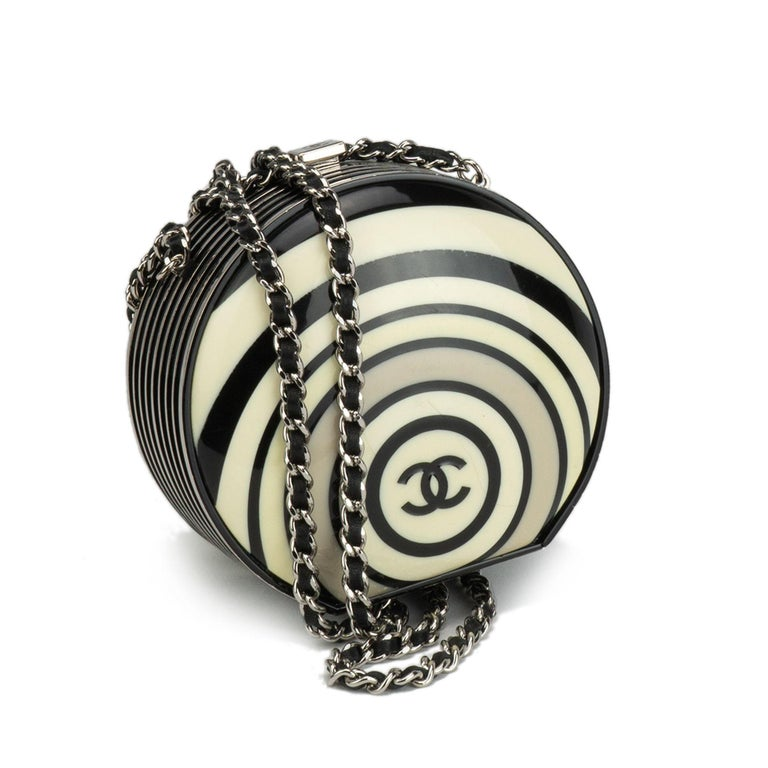 Chanel Resin Pillbox Minaudière Clutch, Spring 2006   For Sale 7
