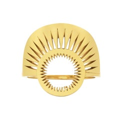 Zoe and Morgan Gold Pocket Full of Sunshine Ring