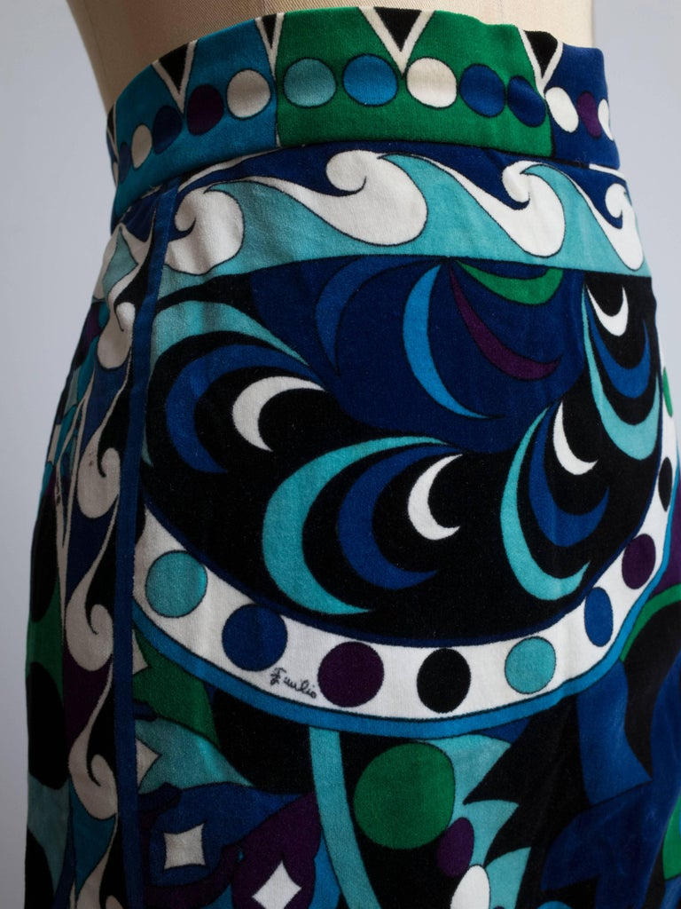 1960s Emilio Pucci Skirt In Excellent Condition For Sale In Antwerp, BE