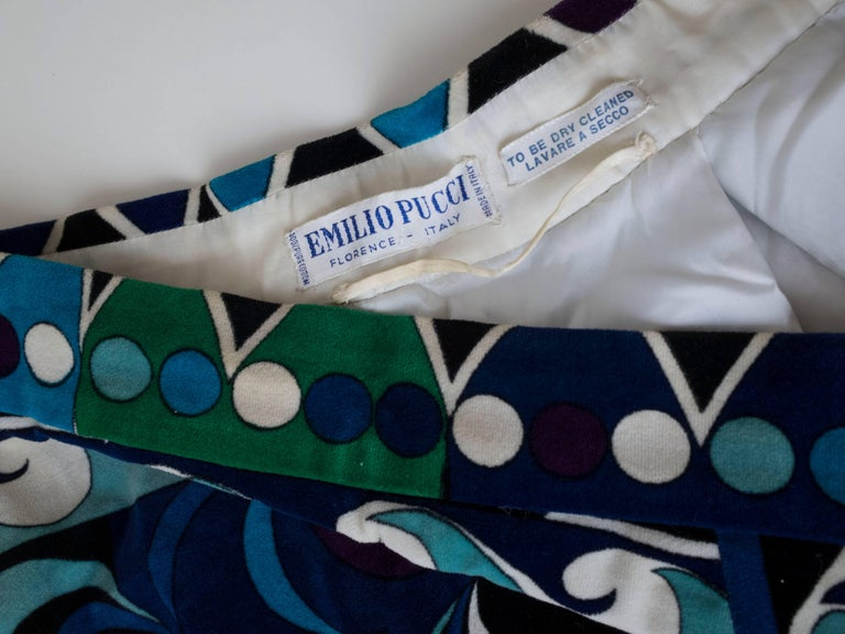 1960s Emilio Pucci Skirt For Sale 1