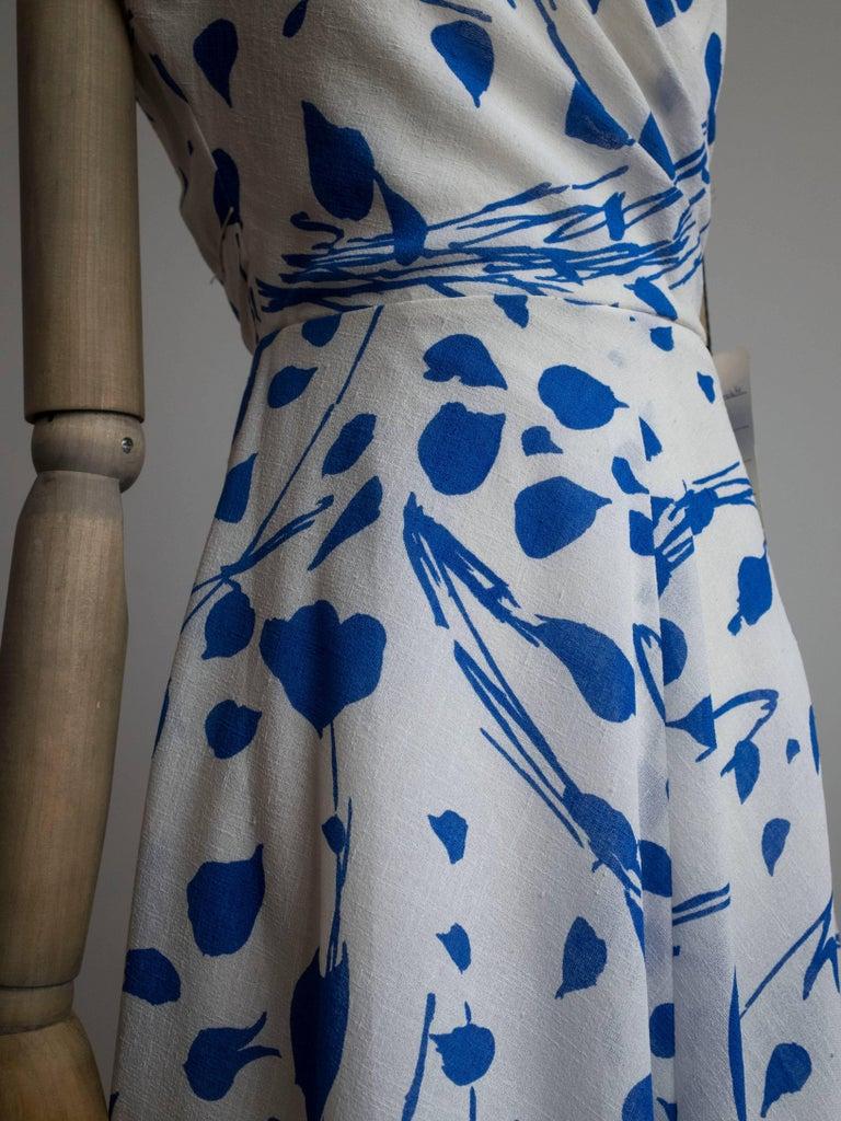 1960s Halter Dress by Jean Allen In New Condition For Sale In Antwerp, BE