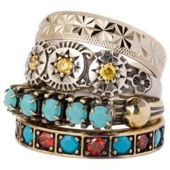 Iosselliani Eleguà Engagement Ring Set