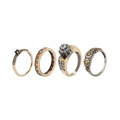 Iosselliani Club Africana Set of 3 Rings