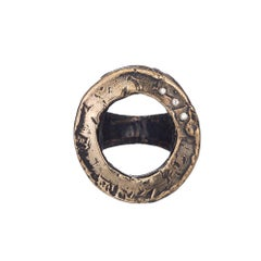 Diamond Infini Open Circle Ring