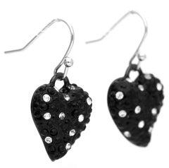 Guess Women Earrings drop earrings metal black