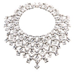 Simon Harrison Claudette Large Crystal Necklace