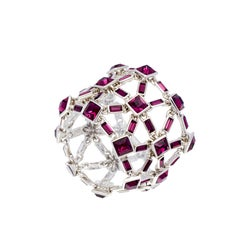 Simon Harrison Claudette Amethyst Crystal Bracelet