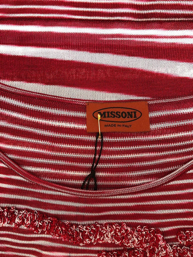 Missoni Knit Bodycon Dress In Excellent Condition For Sale In Los Angeles, CA