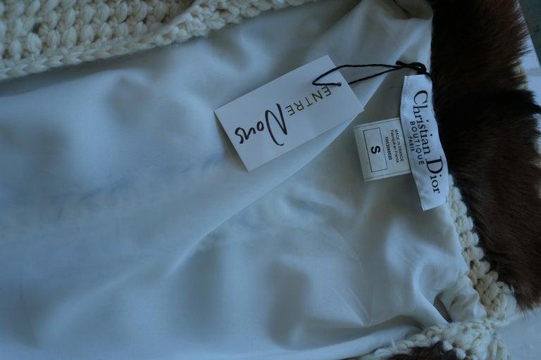 Christian Dior Vintage Maxi Cardigan  For Sale 1