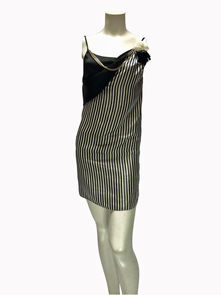 Lanvin Pin-Striped Ensemble  In Excellent Condition For Sale In Los Angeles, CA
