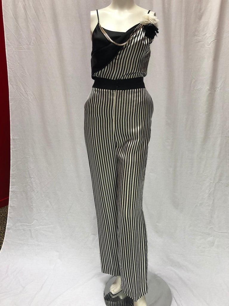 Women's or Men's Lanvin Pin-Striped Ensemble  For Sale