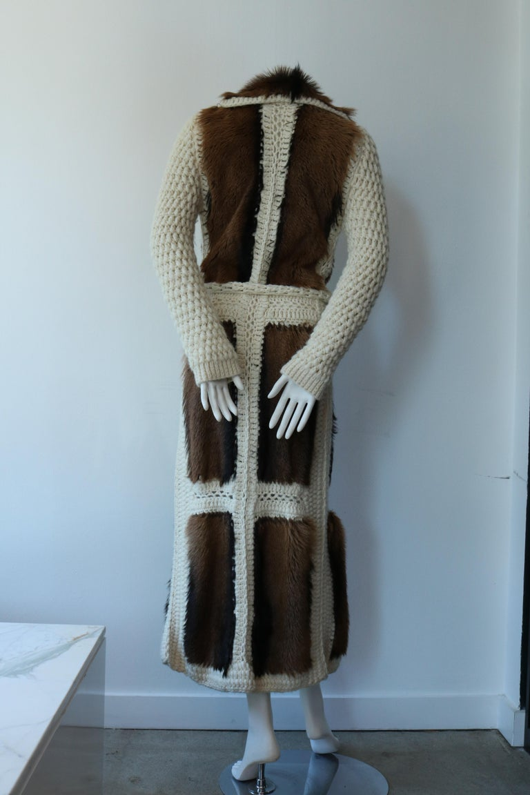 Women's Christian Dior Vintage Maxi Cardigan  For Sale